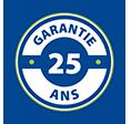*25 ans garantie