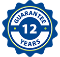 * 12 years guarantee